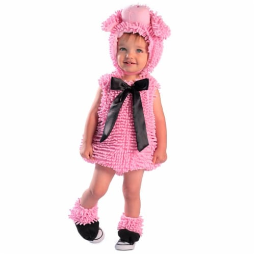 Princess 410248 Child Squiggly Piggy Costume - Extra Small Perspective: front