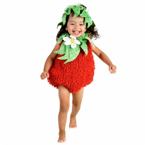 Princess 410294 Girls Suzie Strawberry Child Costume - Extra Small Perspective: front