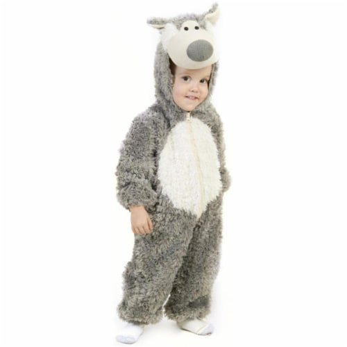 Princess Paradise 211916 Little Wolf Toddler Costume Size: 4 Perspective: front