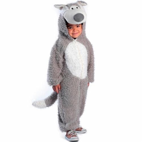 Princess 409965 Child Big Bad Wolf Costume - Medium Perspective: front