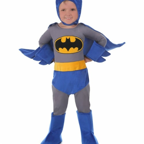 Prin5500 278100 Toddler Batman Cuddly Costume, 6-12 Months Perspective: front