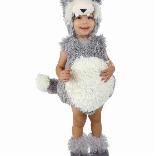 Princess 410175 Child Vintage Beau the Big Bad Wolf Costume - Infant Perspective: front