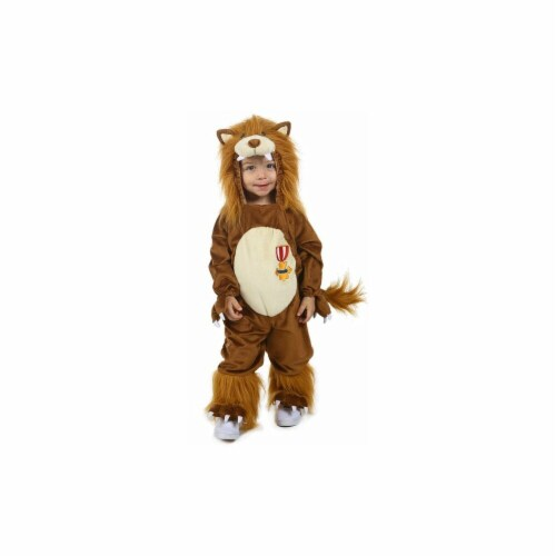 Princess paradise 243300 The Wizard of Oz Cowardly Lion Toddler Costume, Brown Perspective: front