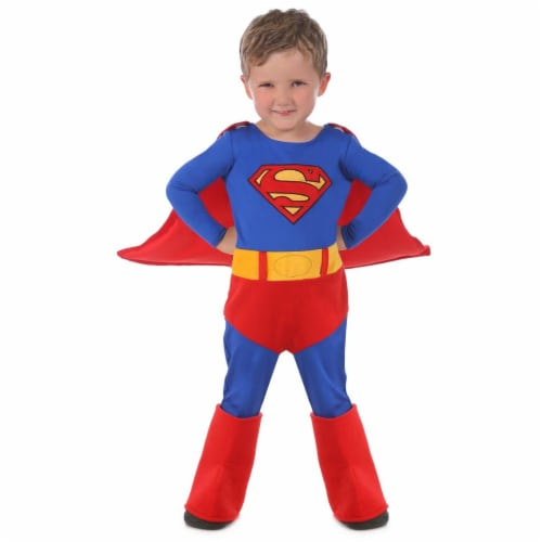Princess Paradise 278101 Halloween Toddler Superman Cuddly Costume - 12-18 Month Perspective: front