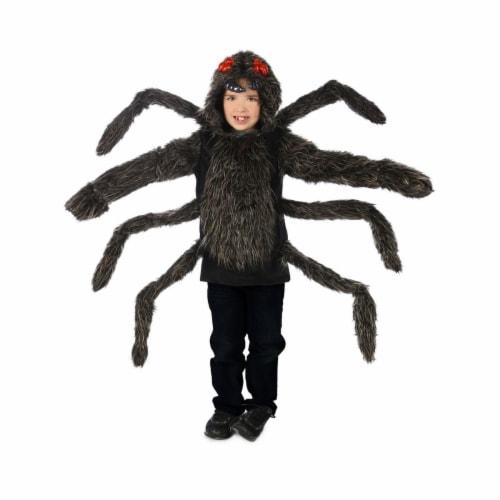 Princess 410157 Child Tarantula Hoodie Costume - Large & Extra Large Perspective: front