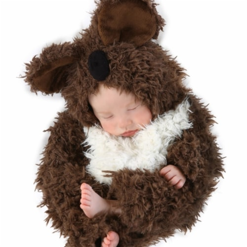 Princess Paradise 244451 Anne Geddes Koala Infant Costume - Brown, 3-6 Months Perspective: front