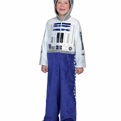 Princess Paradise 278084 Halloween Boys Classic Star Wars Premium R2D2 Costume - Extra Large Perspective: front