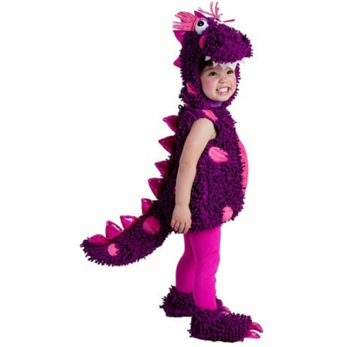 Princess Paradise 243261 Paige the Dragon Toddler Costume, Purple Perspective: front