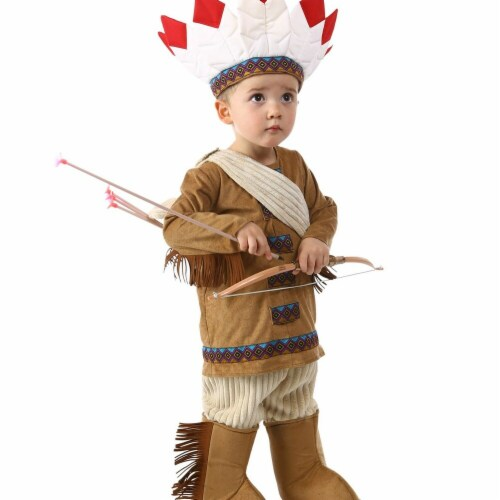 Princess Paradise 277962 Halloween Native American - Extra Small Perspective: front