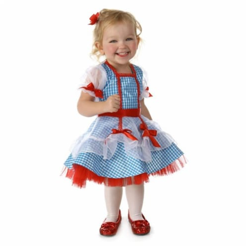 Princess Paradise 243306 The Wizard of Oz Dorothy Toddler Costume, Red - White & Blue Perspective: front
