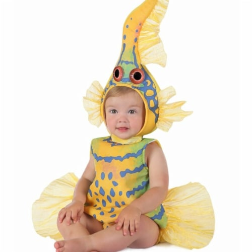 Prin5500 280646 Baby Anne Geddes Yellow Gobi Fish Costume, 18 Months-2T Perspective: front