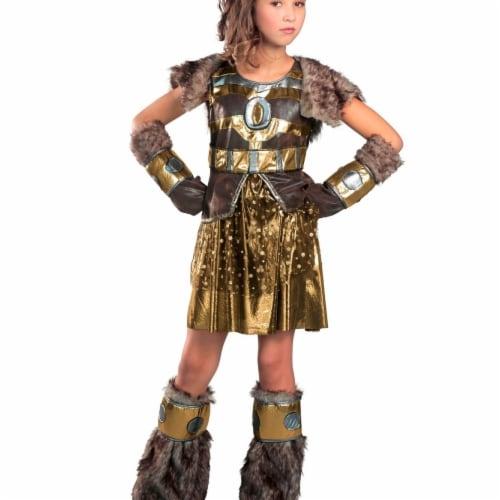 Princess 407751 Girls Hildegard Child Costume - Medium Perspective: front