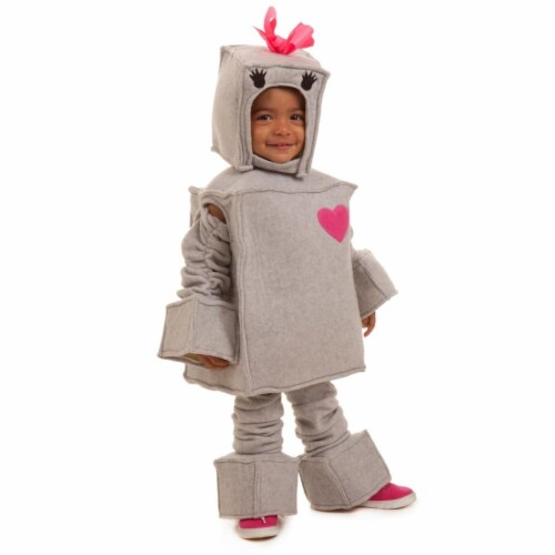 Princess 410073 Girls Rosalie the Robot Child Costume - Extra Small Perspective: front