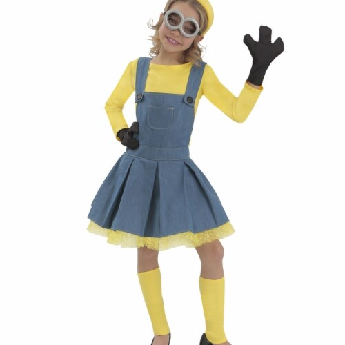 Princess Paradise 243248 Minions Girl Jumper Child Costume Perspective: front