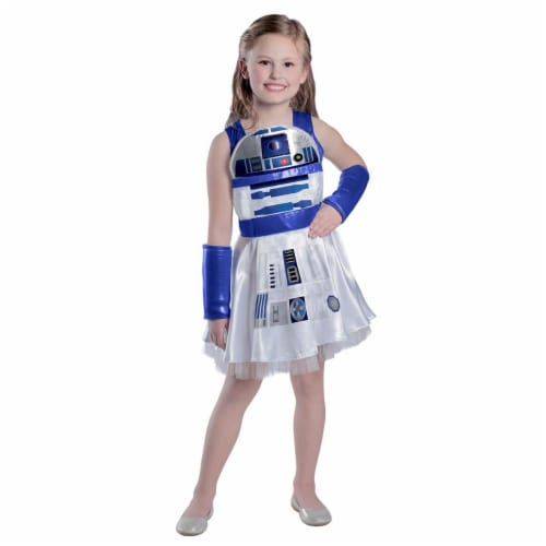 Princess Paradise 278065 Halloween Girls Classic Star Wars R2D2 Dress Costume - Large Perspective: front