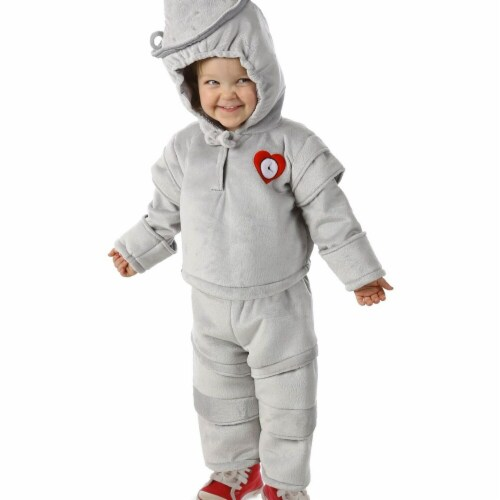 Princess Paradise 277993 Halloween The Wizard of Oz Tin Man Cuddly Costume - Small Perspective: front