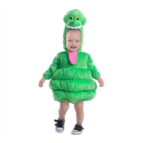 Princess Paradise 273722 Ghostbusters Slimer Deluxe Toddler Costume - 4T Perspective: front