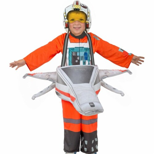 Princess Paradise 270220 Star Wars Ride-In X-Wing Fighter Child Costume - Medium & Large Perspective: front