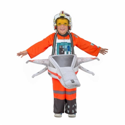 Princess Paradise 270219 Star Wars Ride-In X-Wing Fighter Child Costume - Extra Small & Small Perspective: front