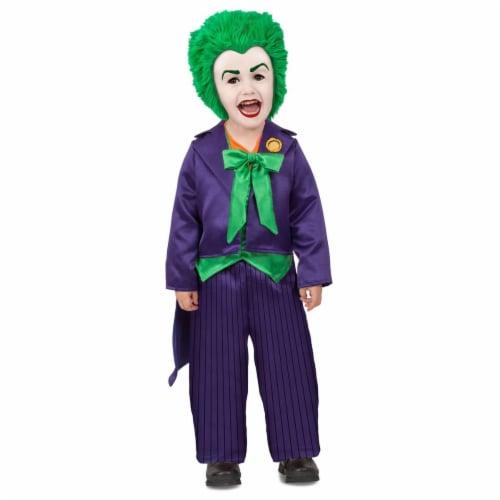 Princess Paradise 278105 Halloween Toddler Dc Batman Comics Toddler Joker Costume - 18M-2T Perspective: front