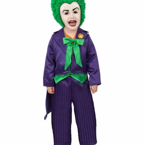 Princess Paradise 278106 Halloween Toddler Dc Batman Comics Toddler Joker Costume - 6-12 Mont Perspective: front