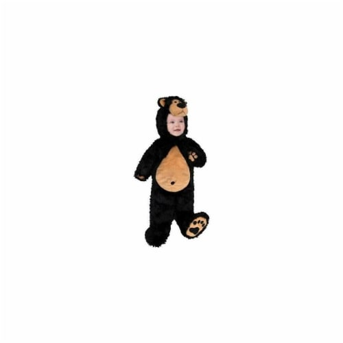 Princess Paradise 249863 Baby Bear Cub Infant Costume for 0 - 3 Months, Black & Brown Perspective: front