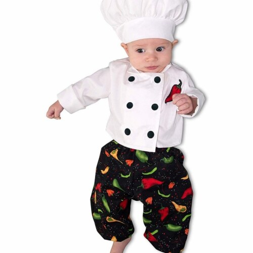 Princess 410331 Child Newborn Chef Costume - Newborn Perspective: front