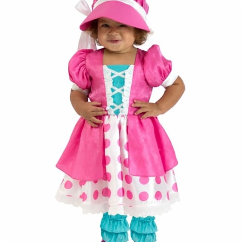 Princess 410343 Girls Toddler Polka Dot Bo Peep Costume - NS2 Perspective: front