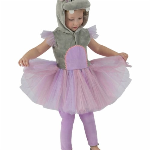 Princess 410112 Girls Princess Hippo Child Costume - NS Perspective: front