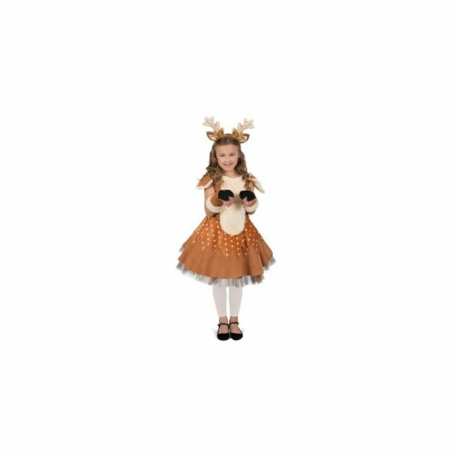 BuySeasons 402356 Doe the Deer Girls Costume, Medium 8 Perspective: front