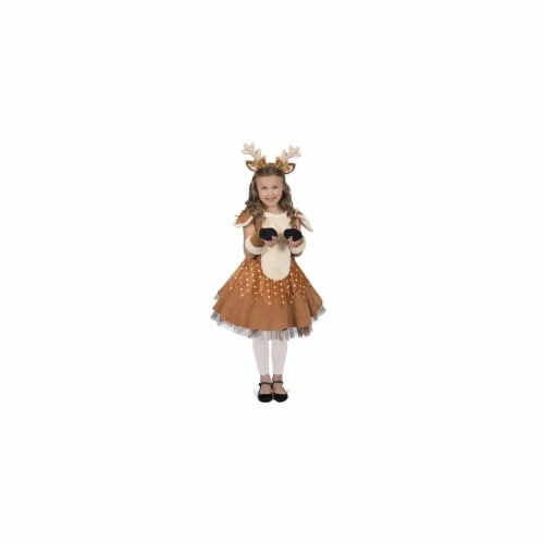 BuySeasons 402353 Doe the Deer Girls Costume, Extra Small 4 Perspective: front