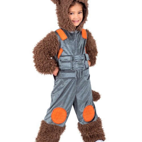 Princess Paradise 278115 Halloween Marvel Child Rocket Raccoon Costume - Large Perspective: front