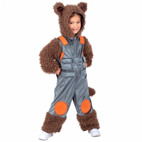 Princess Paradise 278117 Halloween Marvel Child Rocket Raccoon Costume - Small Perspective: front