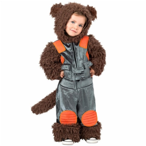 Princess Paradise 278113 Halloween Marvel Toddler Rocket Raccoon Costume - 18M-2T Perspective: front