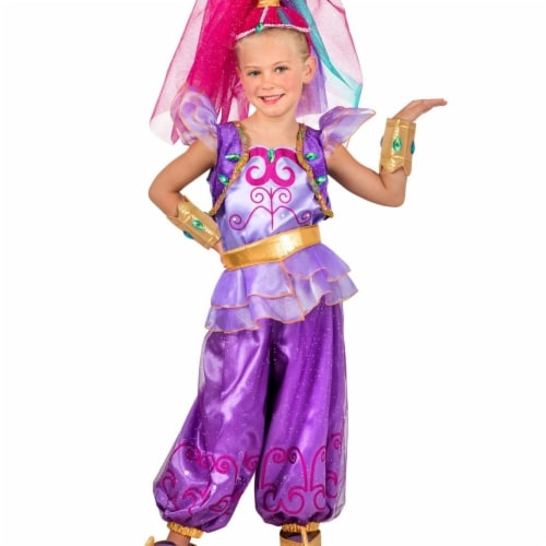 Princess 410337 Shimmer & Shine Girls Shimmer Child Costume - Small Perspective: front