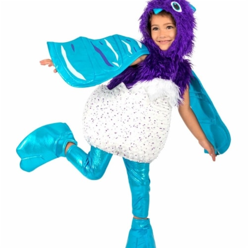 Prin5500 280660 Girls Hatchable Hatchimal Draggle Costume, Small 6 Perspective: front