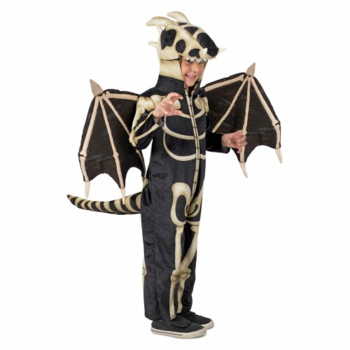 Princess Paradise 278020 Halloween Boys Dragon Skeleton Costume - Medium Perspective: front