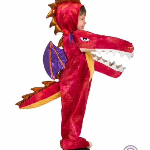 Princess Paradise 278127 Halloween Boys Chompin Red Dragon Costume - Extra Small Perspective: front
