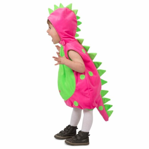 Princess Paradise 277867 Halloween Toddler Dot The Dino Costume - 12 Month Perspective: front