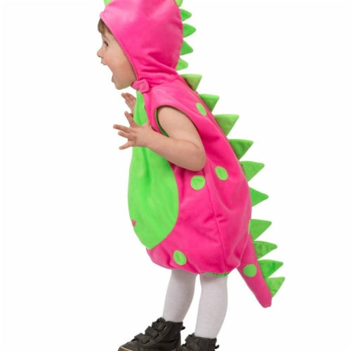 Princess Paradise 277869 Halloween Toddler Dot The Dino Costume - 2T Perspective: front