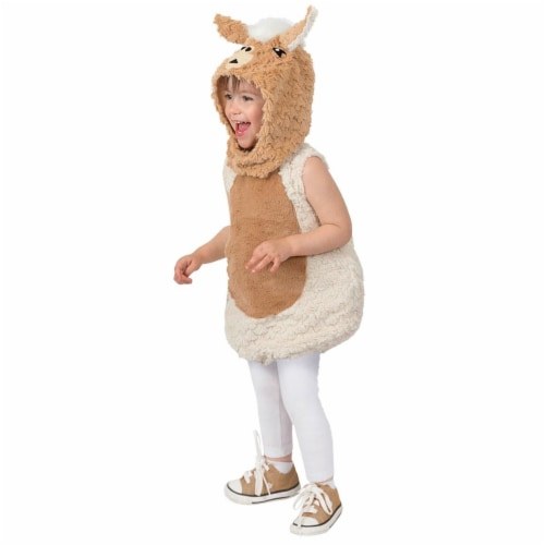 Princess Paradise 278178 Halloween Toddler Lenny The Llama Costume - 2T Perspective: front