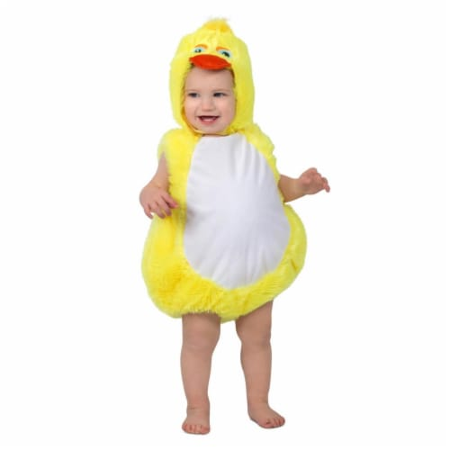 Prin5500 280716 Toddler Plucky Duck Costume, 12-18 Months Perspective: front