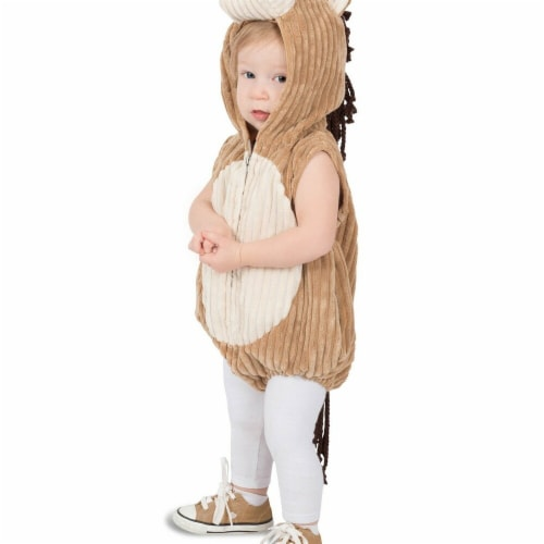 Princess Paradise 278008 Halloween Toddler Charlie The Corduroy Horse Costume - 12 Month Perspective: front