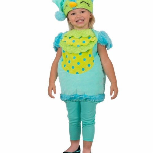 Prin5500 280719 Toddler Sleepy Owl Costume, One Size Perspective: front
