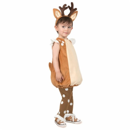 Princess Paradise 278171 Halloween Toddler Debbie The Deer Costume - 18 Month Perspective: front