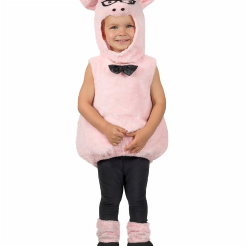 Prin5500 280474 Toddler Hippest Pig Costume, One Size Perspective: front