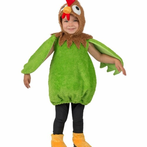 Princess Paradise 278163 Halloween Toddler Green Rooster Costume - 12 Month Perspective: front