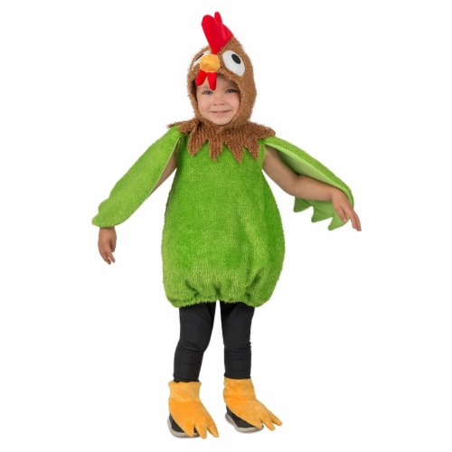 Princess Paradise 278164 Halloween Toddler Green Rooster Costume - 18 Month Perspective: front