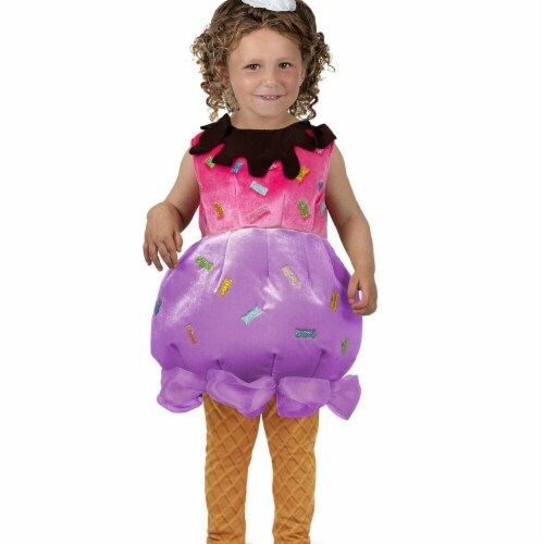 Princess Paradise 278159 Halloween Toddler Ice Cream Sundae Costume - Extra Small Perspective: front