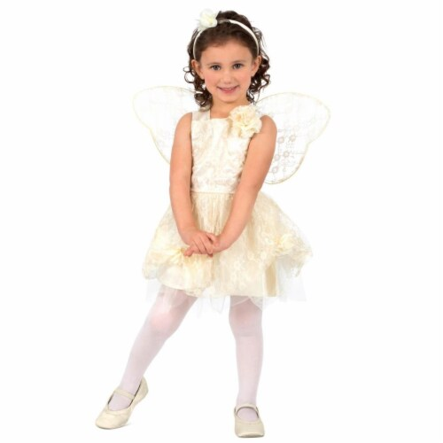 Prin5500 280475 Toddler Lace Fairy Costume, One Size Perspective: front